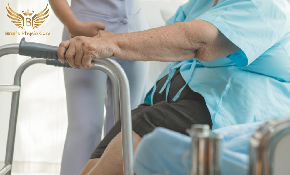 Stroke and Paralysis Physiotherapist at Home Service